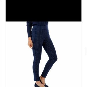Isaac Mizrahi. Blue stretchy pants